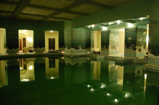 Umaid Bhawan Palace Jodhpur: The indoor pool
