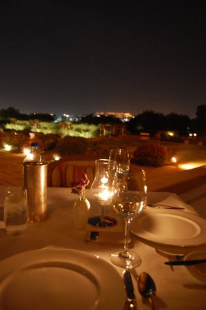 Umaid Bhawan Palace Jodhpur : Dinner at Pillars