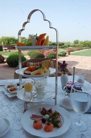 Umaid Bhawan Palace Jodhpur : Breakfast
