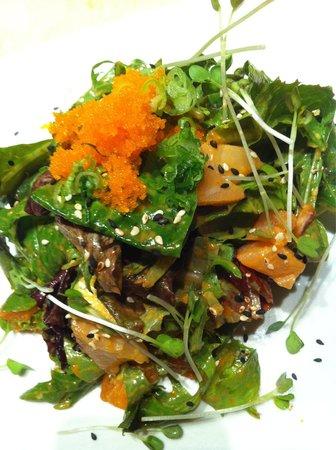 Sushi Xuan Asian Grill: Viagra salad( sashimi salad)