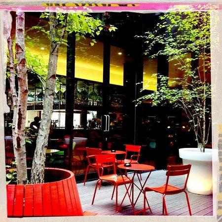 citizenM London Bankside: Innenhof