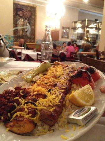 Pars Restaurant : The yummy food