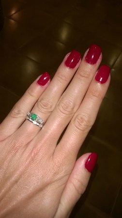 Jetwing Beach: Manicure...