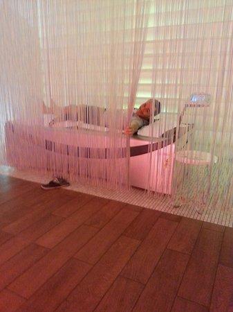Hotel Dorado Beach & Spa : SPA lit d'eau avec massage par jets, excellentissime (et gratuit ^^)