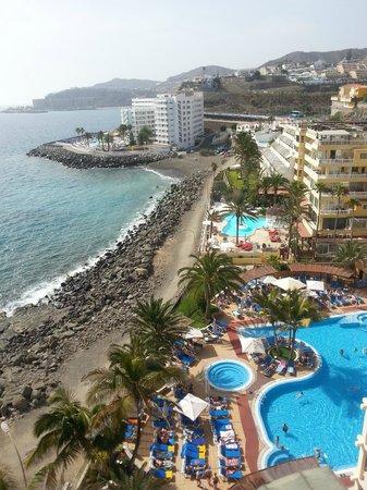 Hotel Dorado Beach & Spa : Vue du solarium