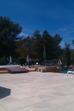 Fiesta Hotel Cala Gracio: Quiet pool area