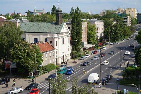 Ibis Warszawa Stare Miasto - Old Town: Part of the view! Not bad.