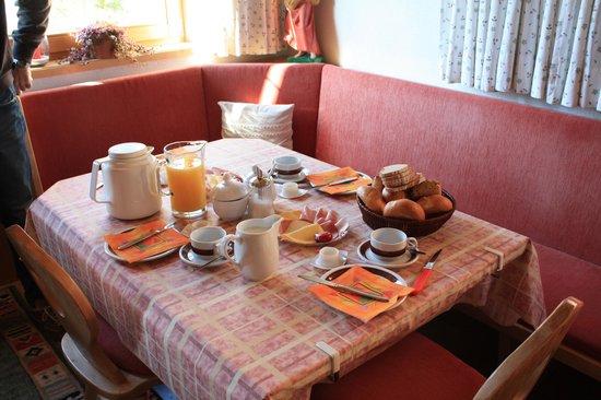 Haus Schweigl: colazione