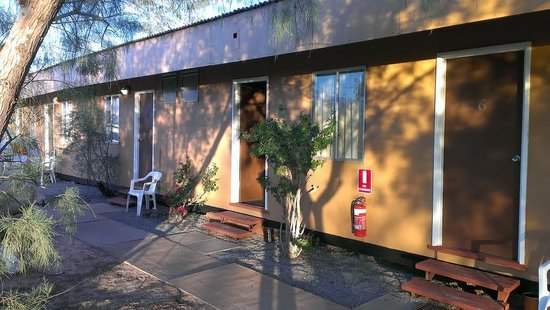 Billabong Homestead Hotel Motel: Accommodation area