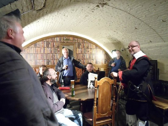 Chester Civil War Tours: In a back room of The Watergates, built a long time ago