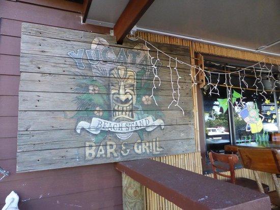 Yucatan Beach Stand Bar: side entrance