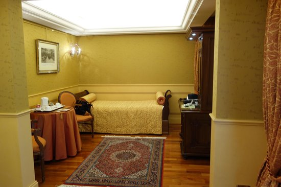 Hotel Al Codega : Junior suite sitting area
