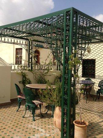 Dar Fes Medina: teras