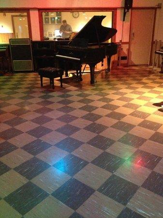 RCA Studio B: Elvis's piano
