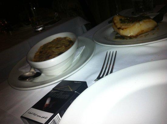 La Petite Maison: Seabass and potato