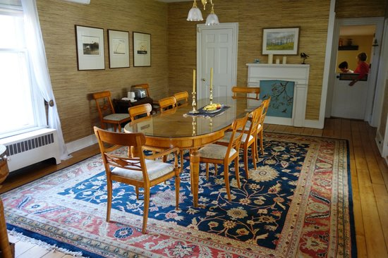 The Federal House B & B: Gorgeous Dining Room