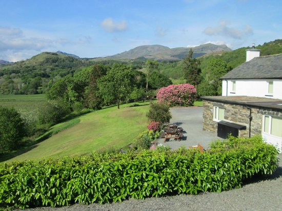 Brynllydan Country Guest House: view from room