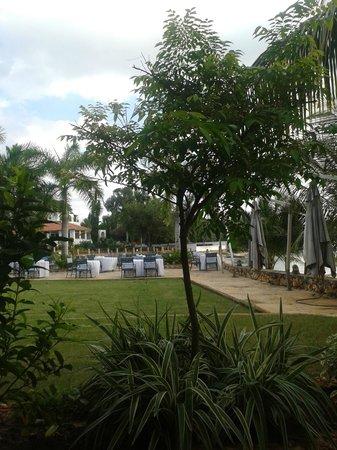 Ngalawa Seafront Restaurant: Restoran