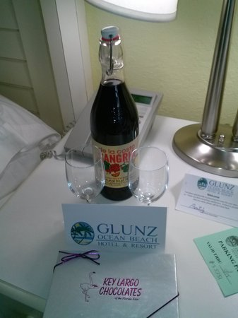 Glunz Ocean Beach Hotel & Resort : Waiting for us upon arrival.