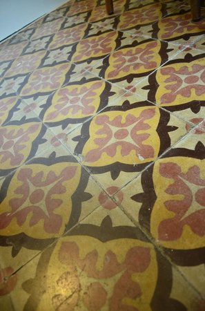 B&B Le Conce : amazing floor