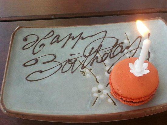 SUSHISAMBA City Happy Birthday Gift