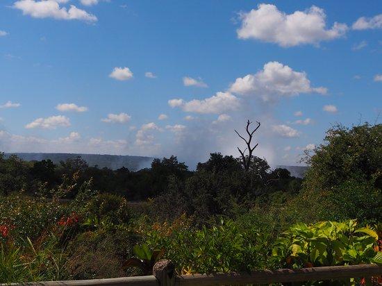 Ilala Lodge: la vue depuis la terrasse
