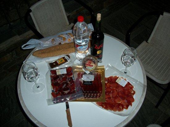 Las Alpujarras: jamon bellota hmmmmmmm!!!