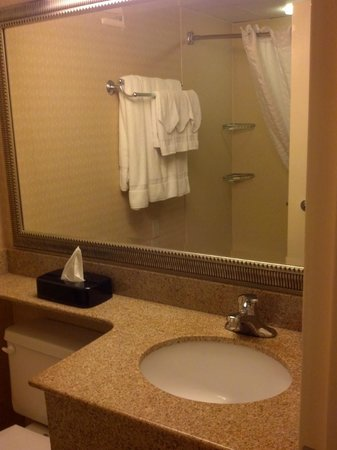Country Inn & Suites By Carlson, Fredericksburg South (I-95): Clean bath