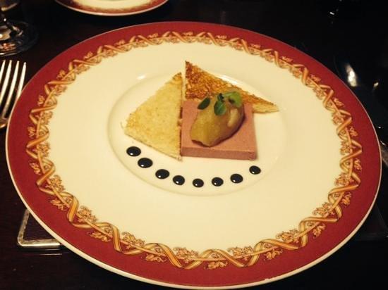 Nailcote Hall Hotel and Golf Club: chicken parfait