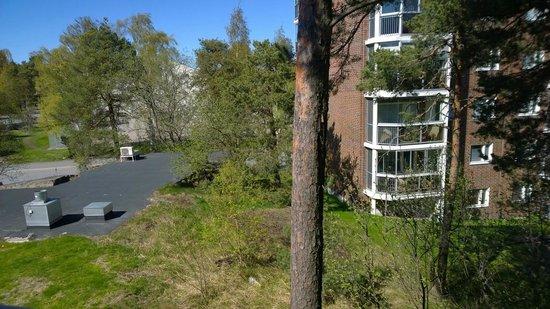 Hotel Kalliohovi: View from 3rd floor