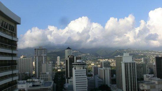 Sheraton Waikiki : City view 2