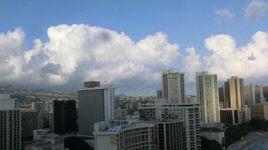 Sheraton Waikiki : City view 1