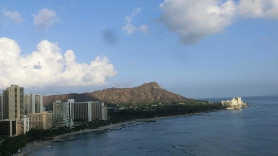 Sheraton Waikiki: Diamond Head view