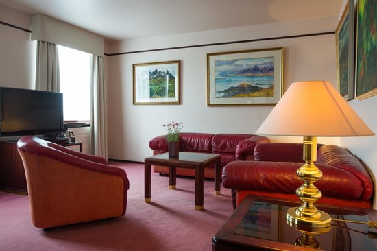 Hotel Holt: Suite offers more space and comfort