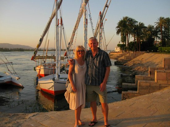 ACHTI Resort Luxor: Enjoying the Nile Sunset