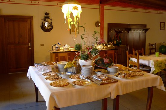 Melo in Fiore: Part of Breakfast Offering