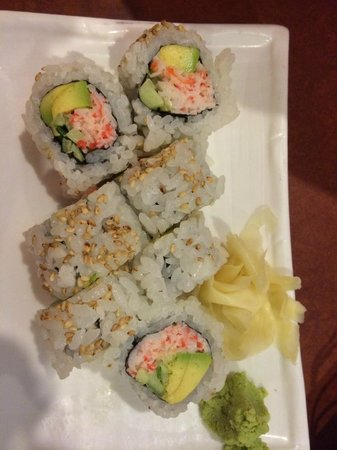 Masa's Sushi & Robata Bar: California roll