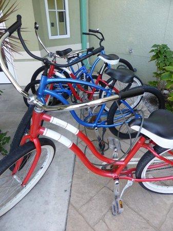 Residence Inn Fort Myers Sanibel : bikes for rent