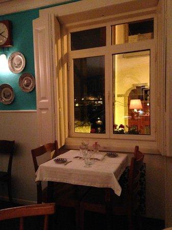 Cometa Restaurante: Cometa: the restaurant with a view