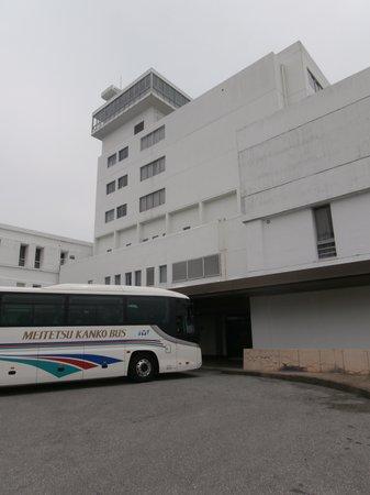 Green Hotel Sangane: ホテル正面