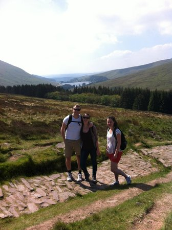 The Malt House: View on the near by Brecon Beacons