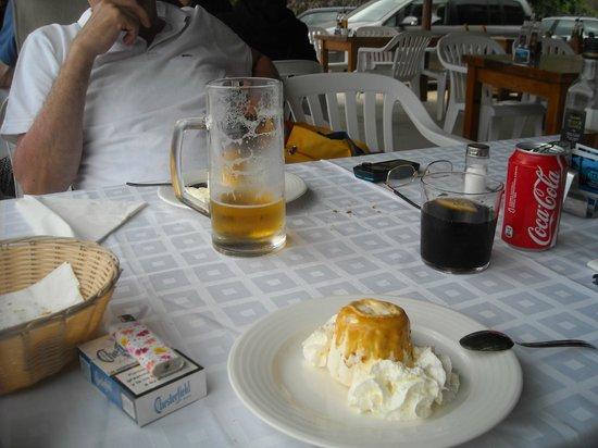 Restaurant El Carmen: semifreddo con pinoli, una delizia!!!