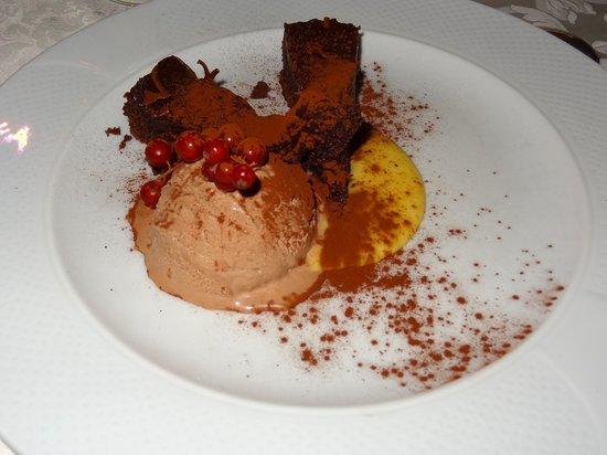 Antica Trattoria San Lorenzo : Schoko/Eis Dessert