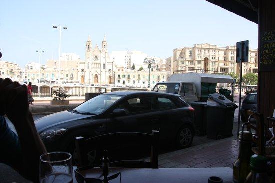 Caffe Bocconcino : view from our sits