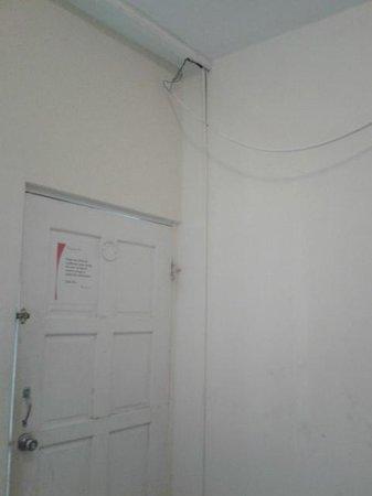 Coningsby Inn: lose Kabel