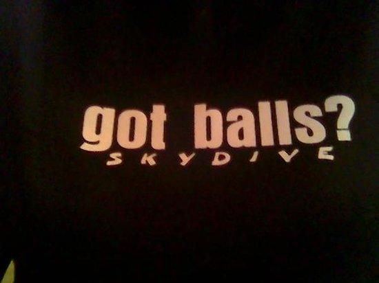 Skydive OC: got balls ?