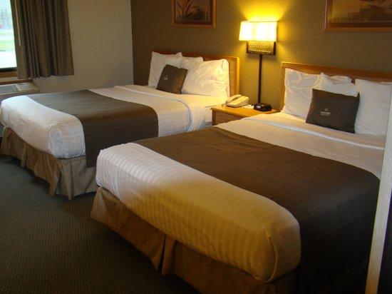 Boarders Inn & Suites by Cobblestone Hotels Faribault, MN: Double Queen Room