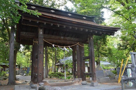 Oiimatakubohachiman Shrine: 山門