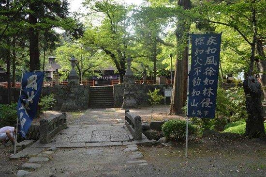 Oiimatakubohachiman Shrine : 本殿への参道
