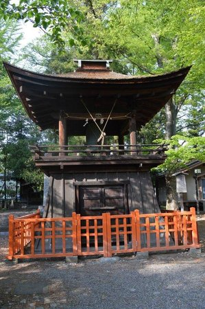 Oiimatakubohachiman Shrine: 鐘楼